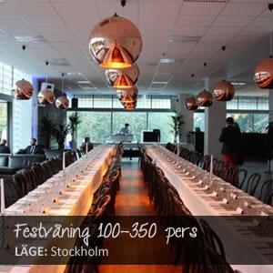 Festvåning Stockholm julfest